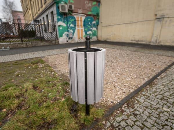 Kosz parkowy Genewa WPC