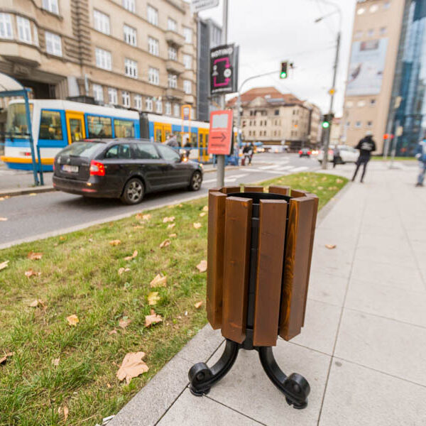 Kosz uliczny Praga