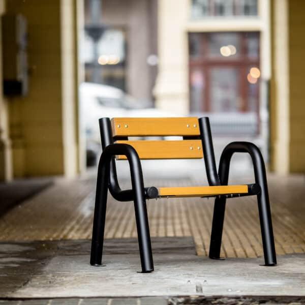 Krzesło parkowe Spartan