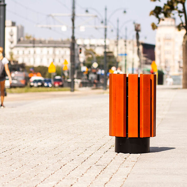 Kosz uliczny Ateny
