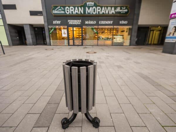 Kosz uliczny Praga WPC