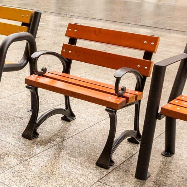 Krzesło parkowe Gdańskie Bis