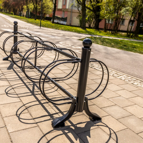 Stojak na rowery Łódzki - 10 stanowisk